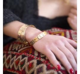 Bracelet Abraxas Yucatan doré à l'or fin