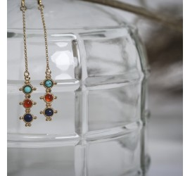 Boucles d'oreilles pendantes collection RÂ