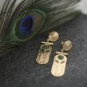 Boucles d'oreilles créateur BO1 TALISMAN