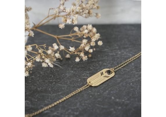 Bracelet pierre semi précieuses BR2 TALISMAN