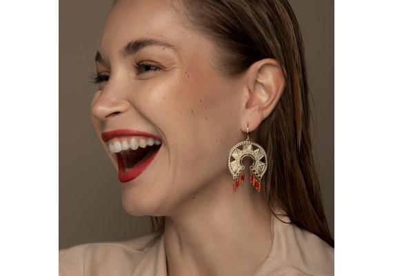 Boucles d'oreilles bohème Frida