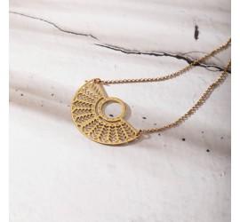 Collier bohème NAYA doré à l'or fin