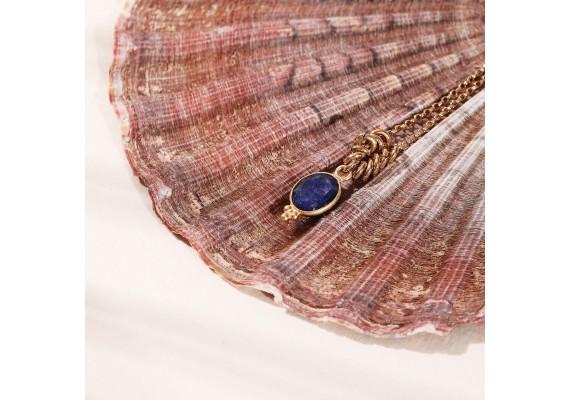 Collier pierre semi précieuses IDA lapis lazuli