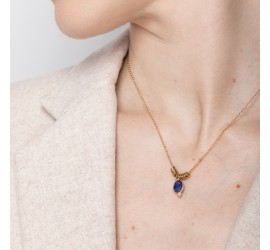 Collier pierre semi précieuse IDA lapis lazuli