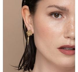 Boucles d'oreilles pendantes NOMADE