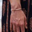 Bracelet fin jaspe rouge