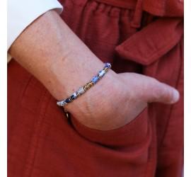 Bracelet pierre JAYA sodalite