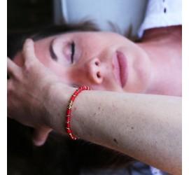 Bracelet pierre JAYA bambou de mer