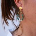 Boucles d'oreilles Turquoise NOË