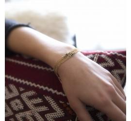 Bracelet pierre semi précieuse ABRAXAS NAHUATI