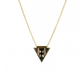 Collier bohème CO1 NUBIA noir