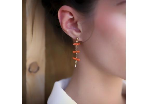 Boucles d'oreille ethniques
