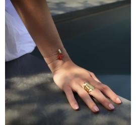 Bracelet créateur femme RÉCIF