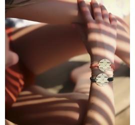 Bracelet plaqué or AMAYA