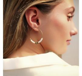Boucles d'oreille ethniques OMOA