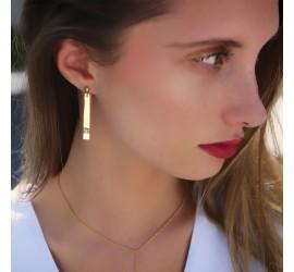 Boucles d'oreille pendantes OMOA