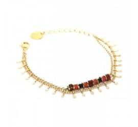 Bracelet plaqué or femme IMPALA