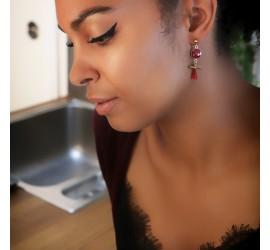 Boucles d'oreilles créateur MALACA