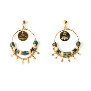 Boucles d'oreilles Tihuacan Tika