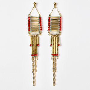 Boucle d'oreilles Tihuacan Tika